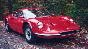 1971 Ferrari 246 DINO Completely restored by us circa 1988.